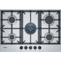 NEFF T27DS59N0 Gas Hob - Stainless Steel, Stainless Steel