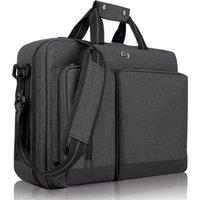 Solo Duane Hybrid 15.6 Laptop Messenger Bag - Grey, Grey