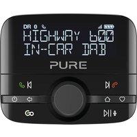 Pure Highway 600 Dabﱓ Bluetooth Car Radio Adapter - Black, Black