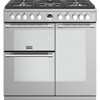 STOVES Sterling S900DF 90 cm Dual Fuel Range Cooker - Stainless Steel, Stainless Steel