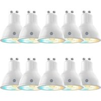 HIVE Active Light Cool to Warm White Bulb   GU10  Pack of 10  White