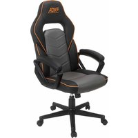 ACHAIR19 Gaming Chair - Black & Grey, Black