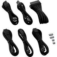CABLEMOD Pro Series ModMesh Extension Cable Kit - Black, Black