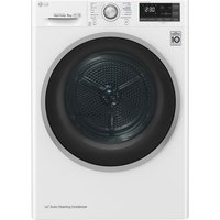 FDJ608W WiFi-enabled 8 kg Heat Pump Tumble Dryer - White, White