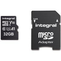 INTEGRAL V10 Class 10 microSD Memory Card - 32 GB