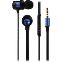 VOLKANO Alloy VK-1007-BL Earphones - Blue & Black, Blue