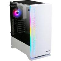 ZALMAN S5 ATX Tower PC Case - White, White