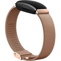 FITBIT Inspire Stainless Steel Mesh Band - Rose Gold, Stainless Steel.