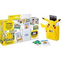 INSTAX mini Link Photo Printer & Pikachu Case Bundle