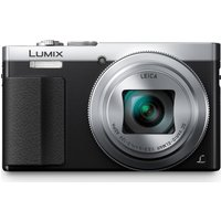 Panasonic Lumix DMC-TZ70EB-S Superzoom Compact Camera - Silver,