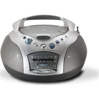 Click to view product details and reviews for Roberts Swallow Cd9959 Boombox Grey Silver Grey.