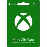 MICROSOFT Xbox Live Gift Card - £25.
