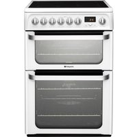 Click to view product details and reviews for Hotpoint Ultima Hue61ps 60 Cm Electric Ceramic Cooker White White.