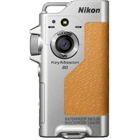 NIKON KeyMission 80 Action Camcorder - Silver, Silver