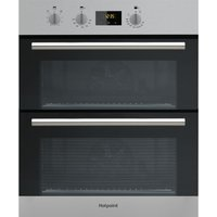 HOTPOINT DD2 540 IX Electric Double Oven - Stainless Steel, Stainless Steel