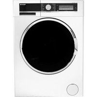 SHARP ES-GFD9144W3 Washing Machine - White, White