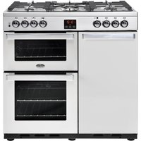 Click to view product details and reviews for Belling Gourmet 90dft 90 Cm Dual Fuel Range Cooker Stainless Steel Stainless Steel.