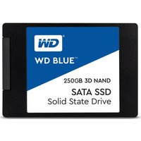 WD Blue 3D 2.5 Internal SSD - 250 GB, Blue.