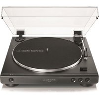 AUDIO TECHNICA AT-LP60X Belt Drive Turntable - Black, Black