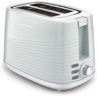MORPHY RICHARDS Dune 220028 2-Slice Toaster - Green, Green