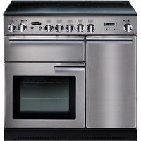 Rangemaster Professional+ 90 Induction Range Cooker - Stainless Steel and Chrome, Stainless Steel