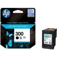 HP 300 Black Ink Cartridge, Black