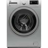 BEKO WX742430S Washing Machine - Silver, Silver