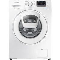 SAMSUNG AddWash WW80K5410WW/EU Washing Machine - White, White