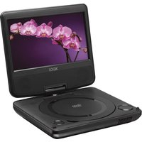LOGIK L7SPDVD16 Portable DVD Player - Black, Black