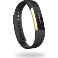 Fitbit Gold Series Alta Accessory Band - Large, Gold & Black, Gold