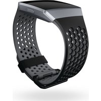 Fitbit Ionic Sport Band - Black & Grey, Large, Black