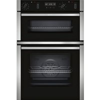 NEFF U2ACM7HN0B Electric Double Oven - Stainless Steel, Stainless Steel