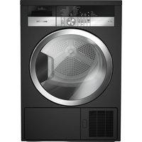 Grundig Gtn38250mgcb 8 Kg Heat Pump Tumble Dryer - Black, Black