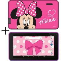 "ESTAR 7"" Tablet & Case - 8 GB, Minnie Mouse, Pink"