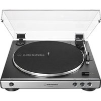 AUDIO TECHNICA AT-LP60XUSB Belt Drive Turntable - Gun Metal, Transparent