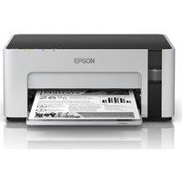 Epson Mono EcoTank ET-M1120 Monochrome Wireless Inkjet Printer, Black