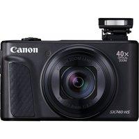 Canon PowerShot SX740 HS Superzoom Compact Camera - Black, Black