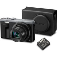 PANASONIC Lumix DMC-TZ80EB-S Superzoom Compact Camera, Case