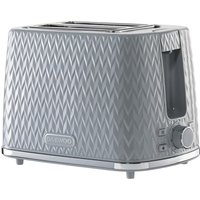 Click to view product details and reviews for Daewoo Argyle Collection Sda1821 2 Slice Toaster Grey Grey.