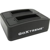 GOXTREME 01490 Action Camera Battery Charging Station, Black