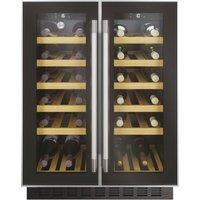 HOOVER HWCB 60D UK/N Wine Cooler – Black, Black