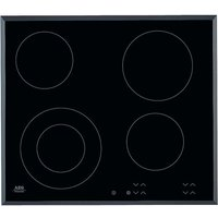AEG HK624010FB Ceramic Hob - Black, Black