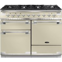 RANGEMASTER Elise 110 Dual Fuel Range Cooker - Cream and Chrome, Cream