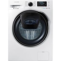 SAMSUNG AddWash WW90K6414QW Washing Machine - White, White