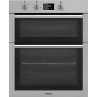 HOTPOINT Class 4 DD4 541 IX Electric Double Oven - Stainless Steel, Stainless Steel