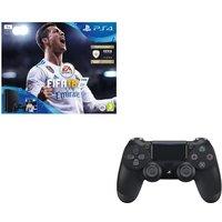 SONY PlayStation 4 Slim, FIFA 18 & Controller Bundle