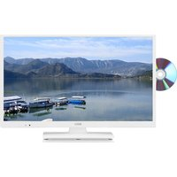 24 Logik L24hedw18 Led Tv With Built-in Dvd Player - White, White at Currys Electrical Store