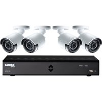 LOREXLHA21081TC4P 8-Channel Full HD 1080p Home Security System - 1 TB, 4 Cameras