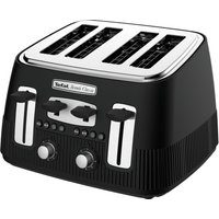 Buy TEFAL Avanti Classic TT780N40 4-Slice Toaster - Matte Black, Black - Currys PC World