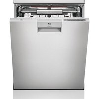 AEG ComfortLift FFE63806PM Full-size Dishwasher - Stainless Steel